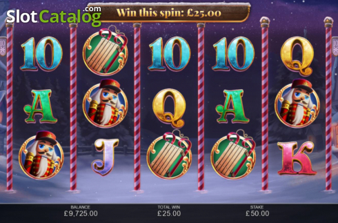 Win Screen 2. Book of Christmas (Video Slot from Inspired Gaming)