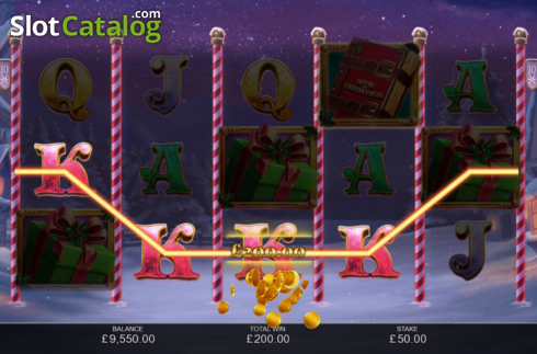 Win Screen 3. Book of Christmas (Video Slot from Inspired Gaming)