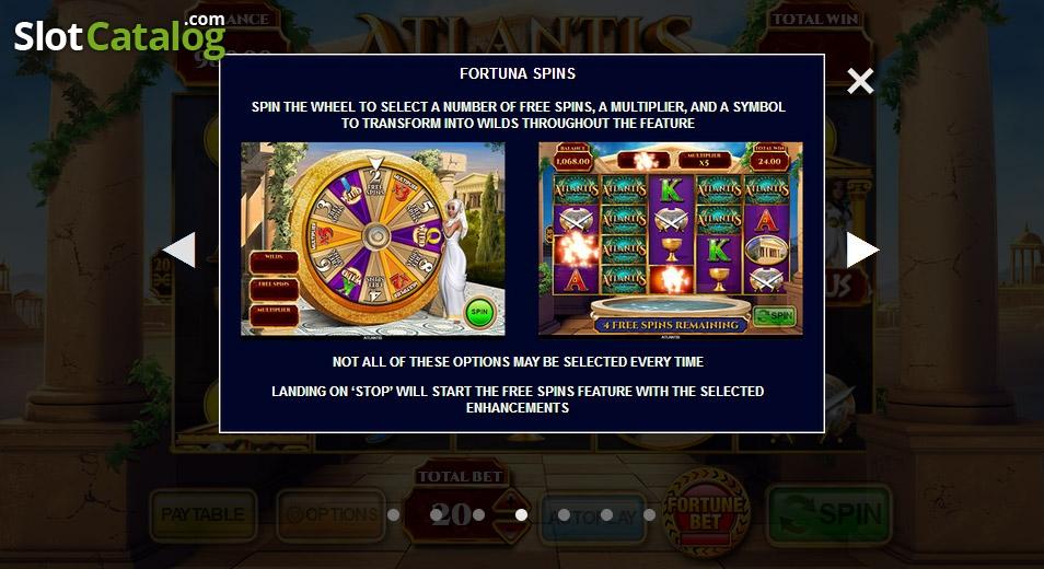 Atlantis: City of Destiny Slot - Play this Game for Free