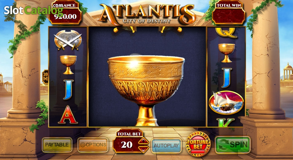 Atlantis: City of Destiny Slot - Play this Game for Free
