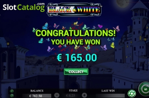 Total Win. Black and White (Jade Rabbit Studios) (Video Slot from Jade Rabbit Studios)