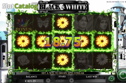 Win Screen 2. Black and White (Jade Rabbit Studios) (Video Slot from Jade Rabbit Studios)