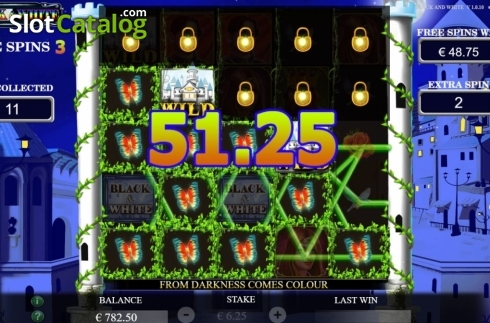 Free Spins 4. Black and White (Jade Rabbit Studios) (Video Slot from Jade Rabbit Studios)