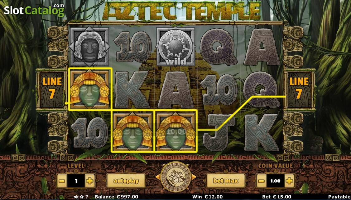 free slots aztec temple