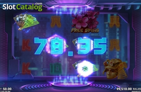 Skjerm6. Shogun of Time (Video Slot fra JustForTheWin)