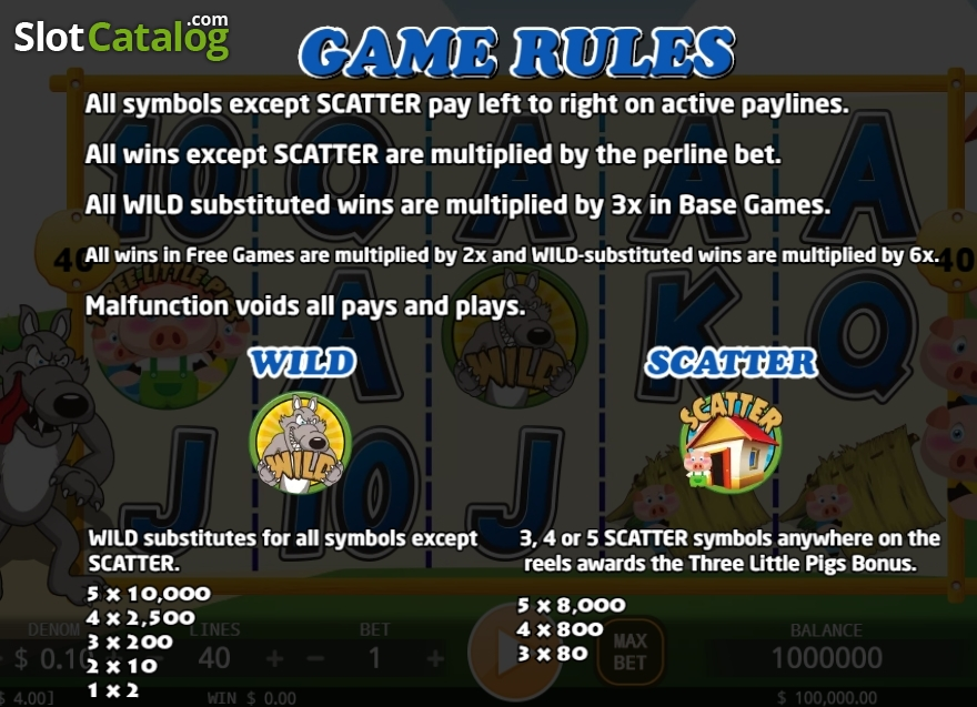 Spiele Three Little Pigs - Video Slots Online