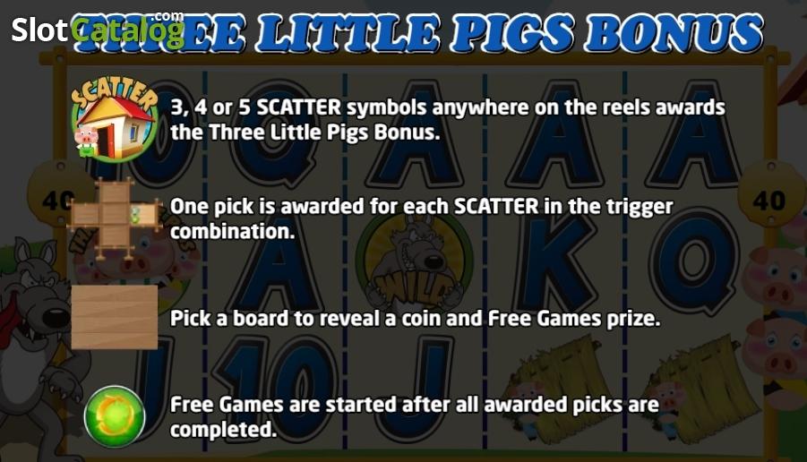 3 Little Pigs Slots