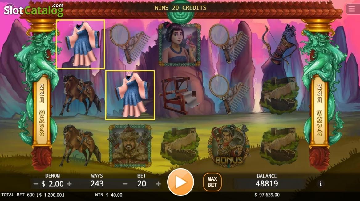 Spiele Hua Mulan - Video Slots Online
