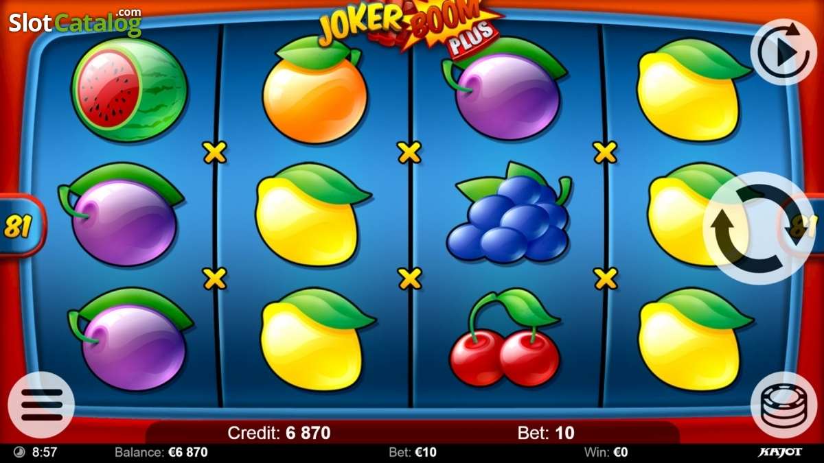 Spiele Joker Boom - Video Slots Online