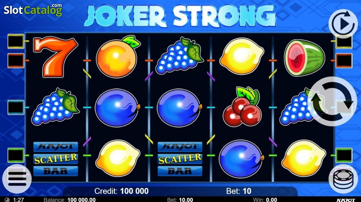 Spiele Joker Strong - Video Slots Online