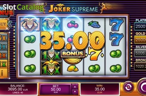 Spiele Joker Supreme - Video Slots Online