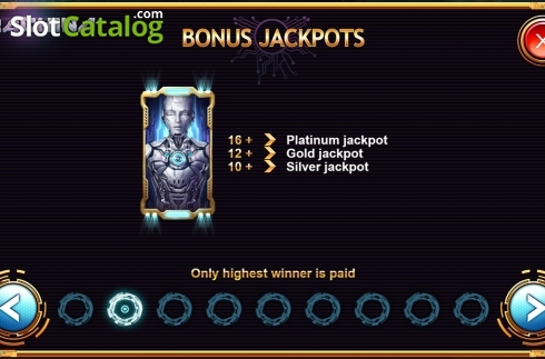 Paytable 2. Machina (Video Slot from Kalamba Games)