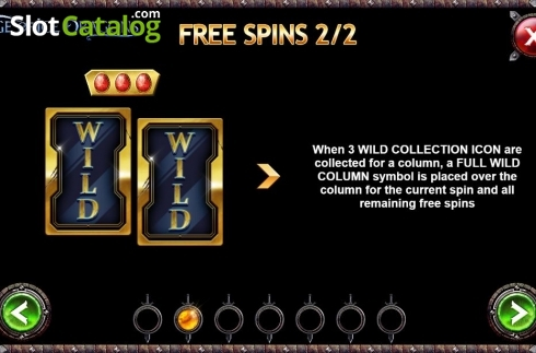 Free Spins 2. Age of Ice Dragons (Video Slot from Kalamba Games)