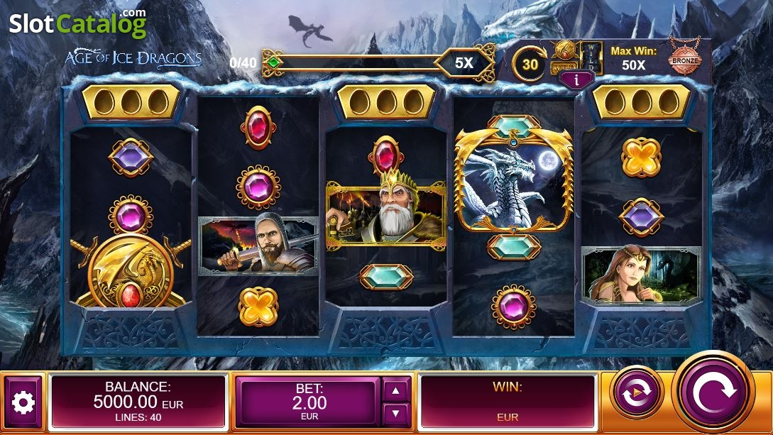 Spiele Age Of Ice Dragons - Video Slots Online