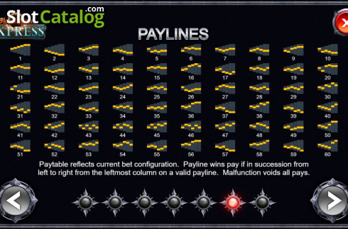 Paylines 1. Blood Moon Express (Video Slot from Kalamba Games)