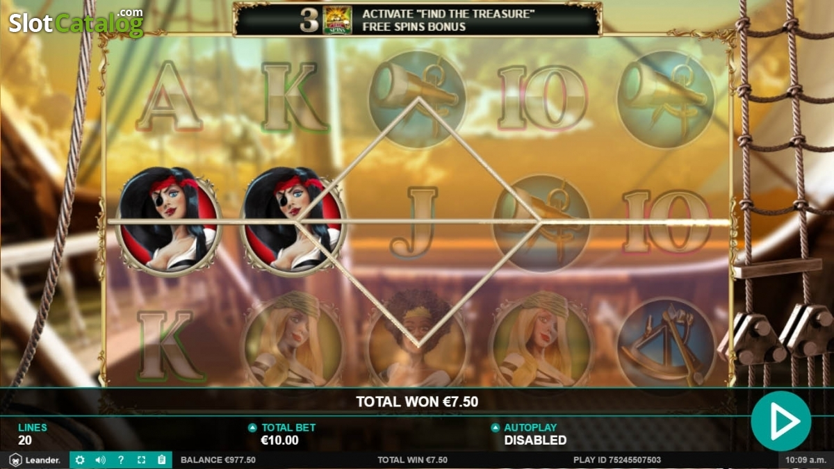Spiele Wild Jane, The Lady Pirate - Video Slots Online