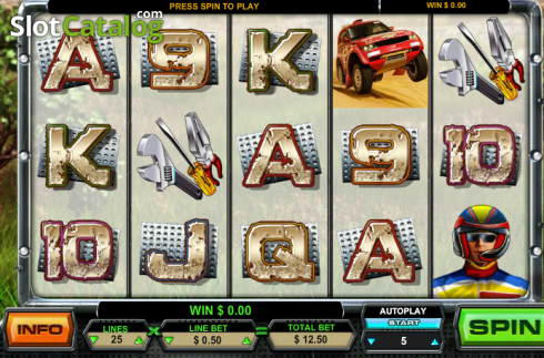 Rally (Video Slots from Leander Games)