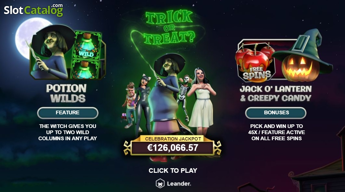 Spiele Trick Or Treat - Video Slots Online