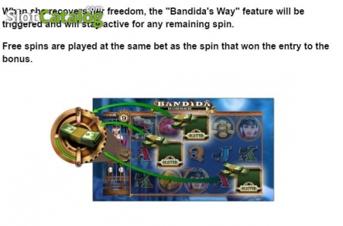 Feature 3. Bandida (Video Slot from Leander Games)
