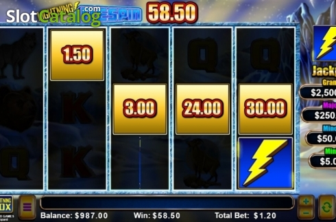 Free Spins. Lightning Leopard (Video Slot from Lightning Box)