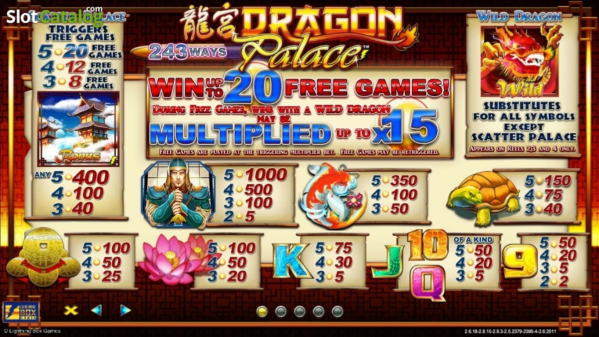 Spiele Dragon Palace - Video Slots Online