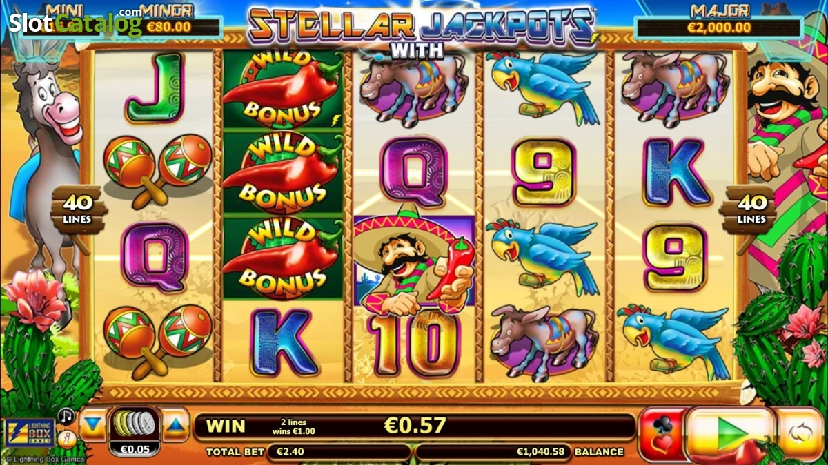Spiele Stellar Jackpots With Chilli Gold X2 - Video Slots Online