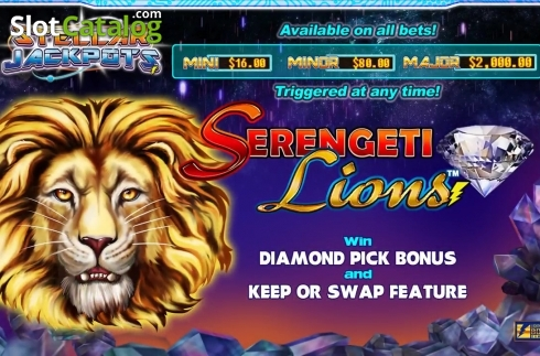 Stellar Jackpots with Serengeti Lions (Slot video din Lightning Box)