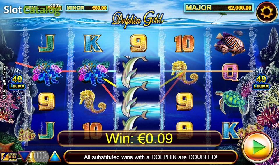 Spiele Dolphins Gold - Video Slots Online