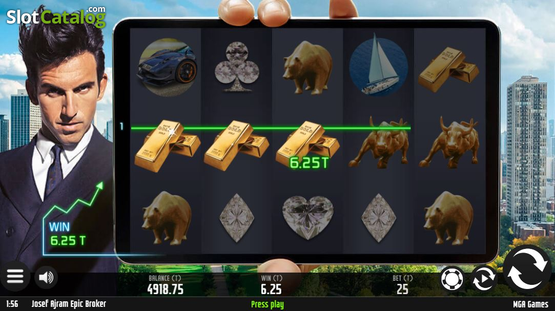 Spiele Josef Ajram Epic Broker - Video Slots Online