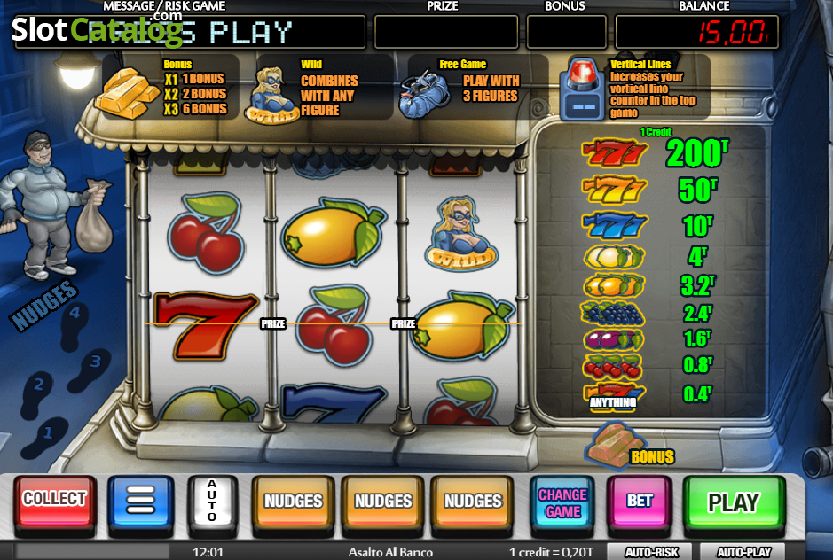 Spielen Sie Asalto Al Banco Kostenlos Im Demo Mode Von MGA