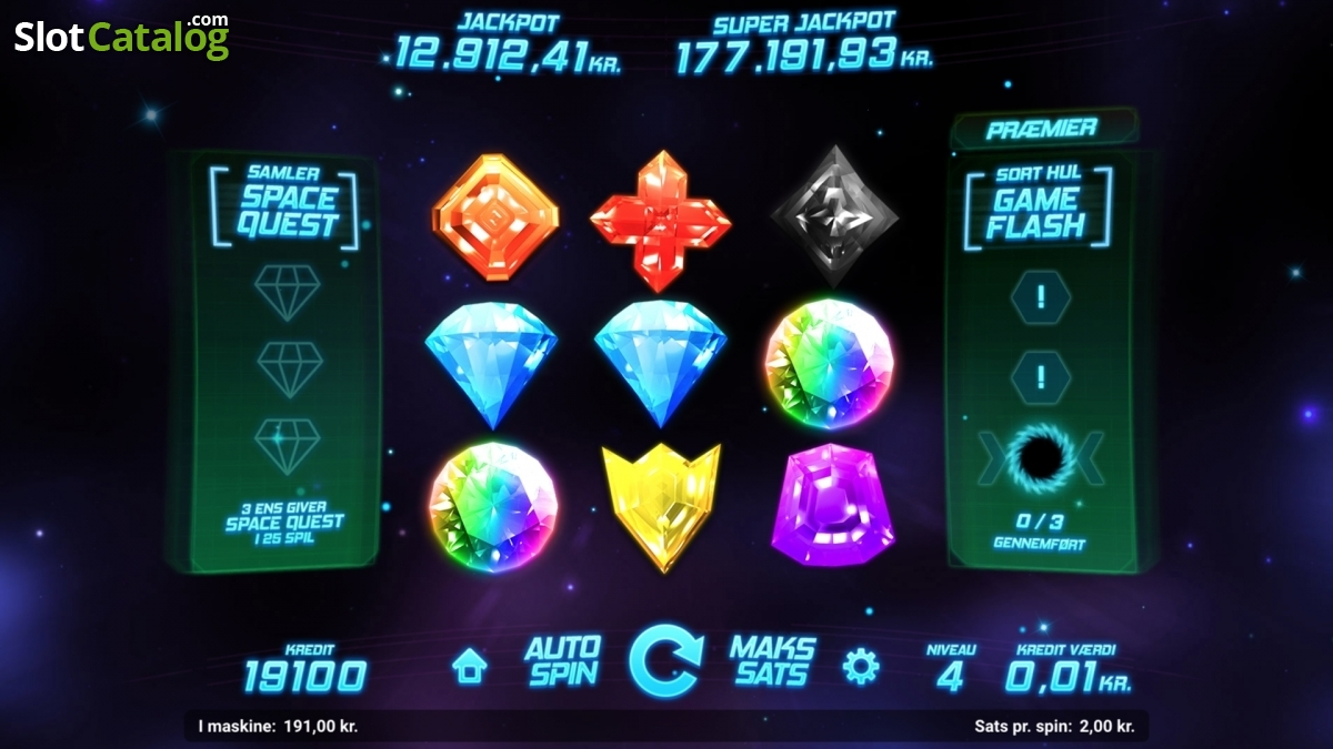 Spiele Space Gem - Video Slots Online