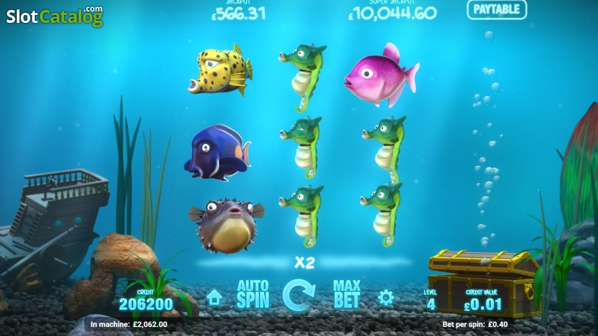 Magnet Gaming Casinos Unveil New Online Slot Fish Tank