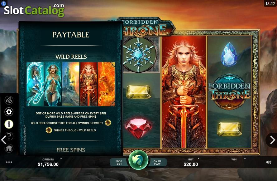 Spiele Forbidden Throne - Video Slots Online