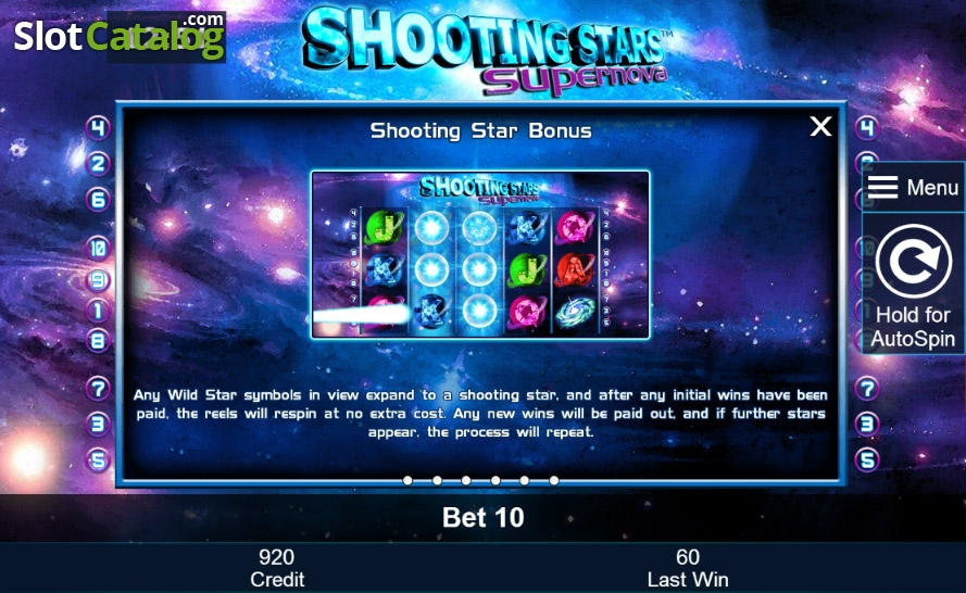 Shooting Stars: Supernova Slot Review, Bonus Codes & where to play from  United Kingdom