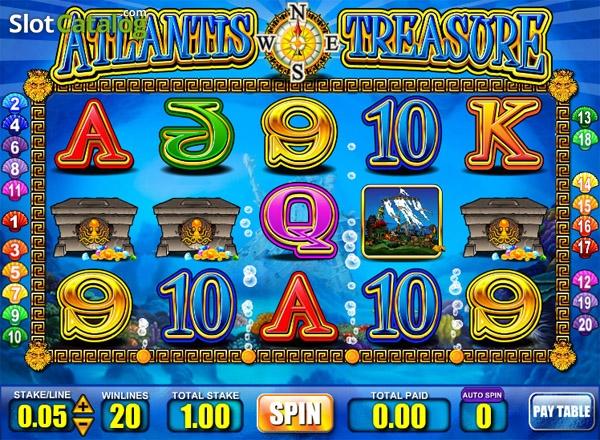 Spiele Atlantic Treasures - Video Slots Online
