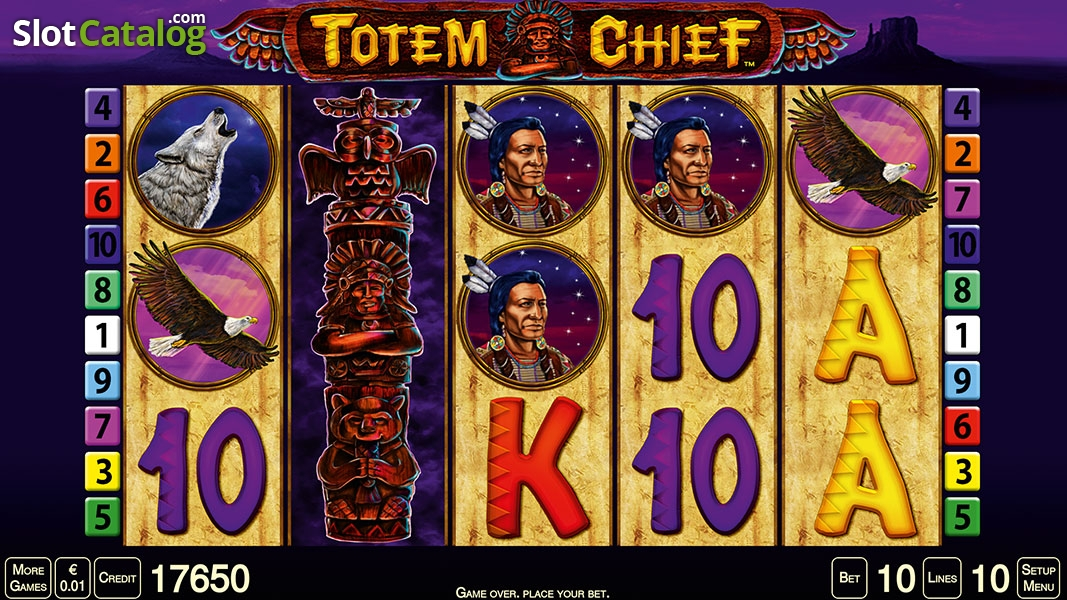 Totem Chief Online Casino