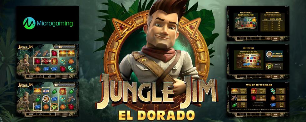 Новый игровой автомат «Jungle Jim El Dorado» от Клуба Вулкан