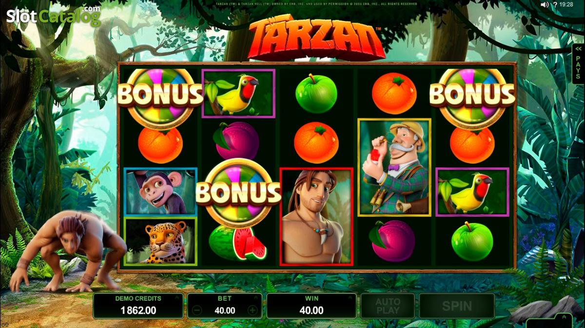 Spiele Tarzan - Video Slots Online