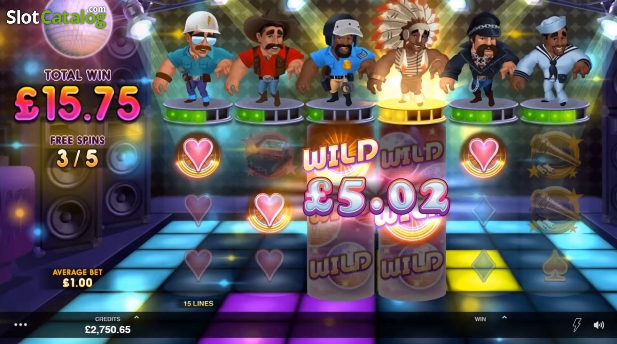 Spiele Village People Macho Moves - Video Slots Online
