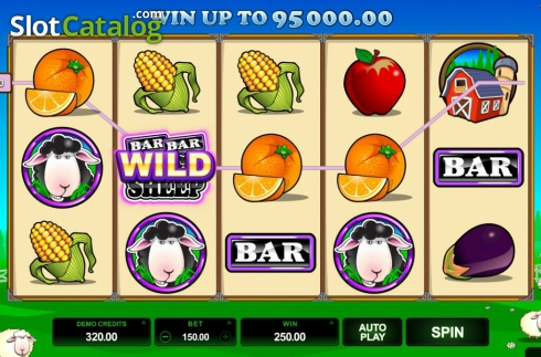Screen11. Bar Bar Black Sheep (Video Slot from Microgaming)