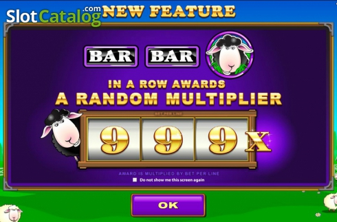 Screen2. Bar Bar Black Sheep (Video Slot from Microgaming)