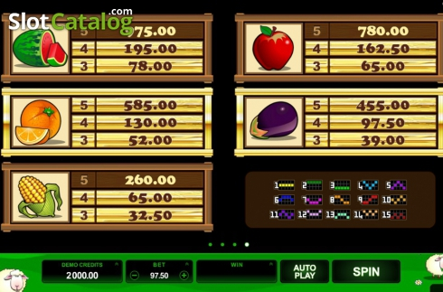 Screen6. Bar Bar Black Sheep (Video Slot from Microgaming)