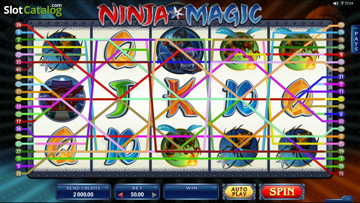 Ninja Magic | Euro Palace Casino Blog