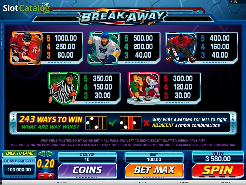 Break Away Casino Review – Expert Ratings and User Reviews