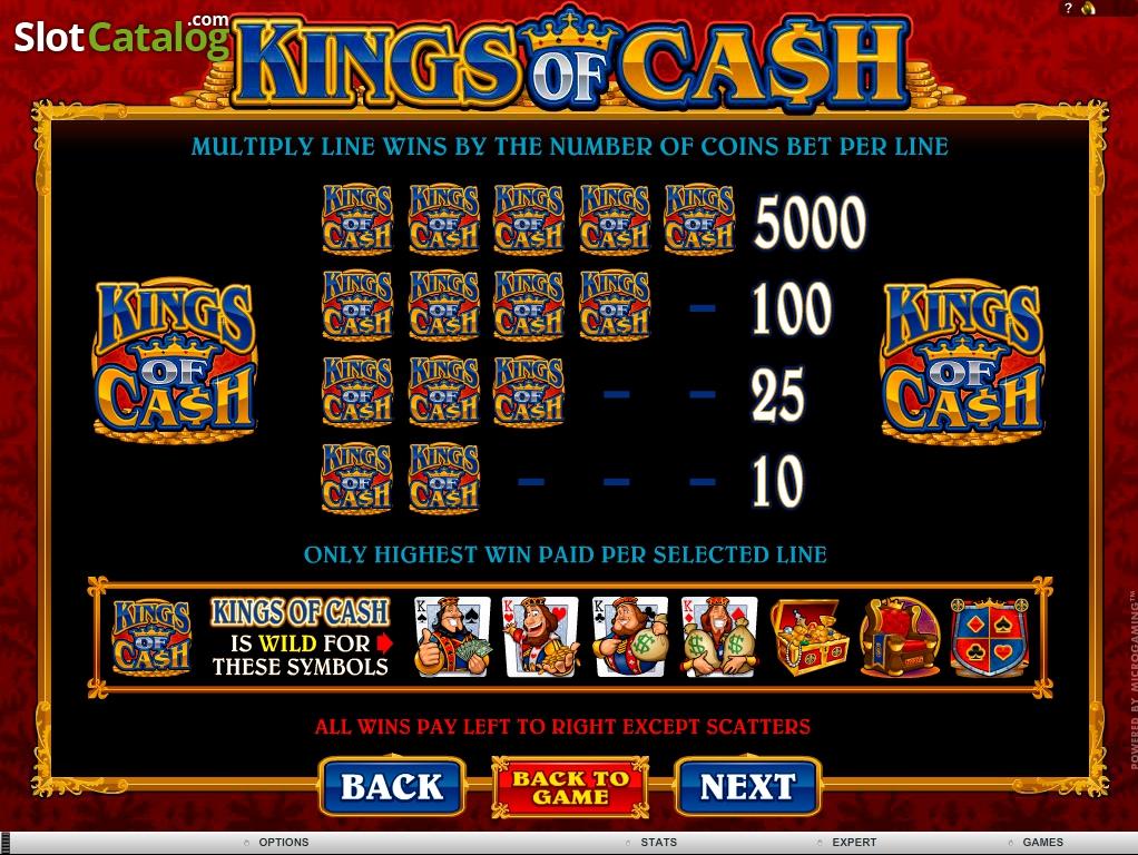 King of cash casino slots bonus bonus casino code code deposit free free no online
