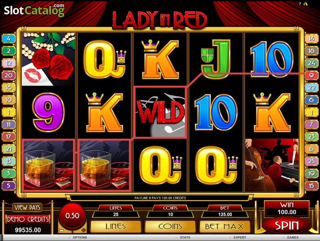 Spiele Lady In Red - Video Slots Online