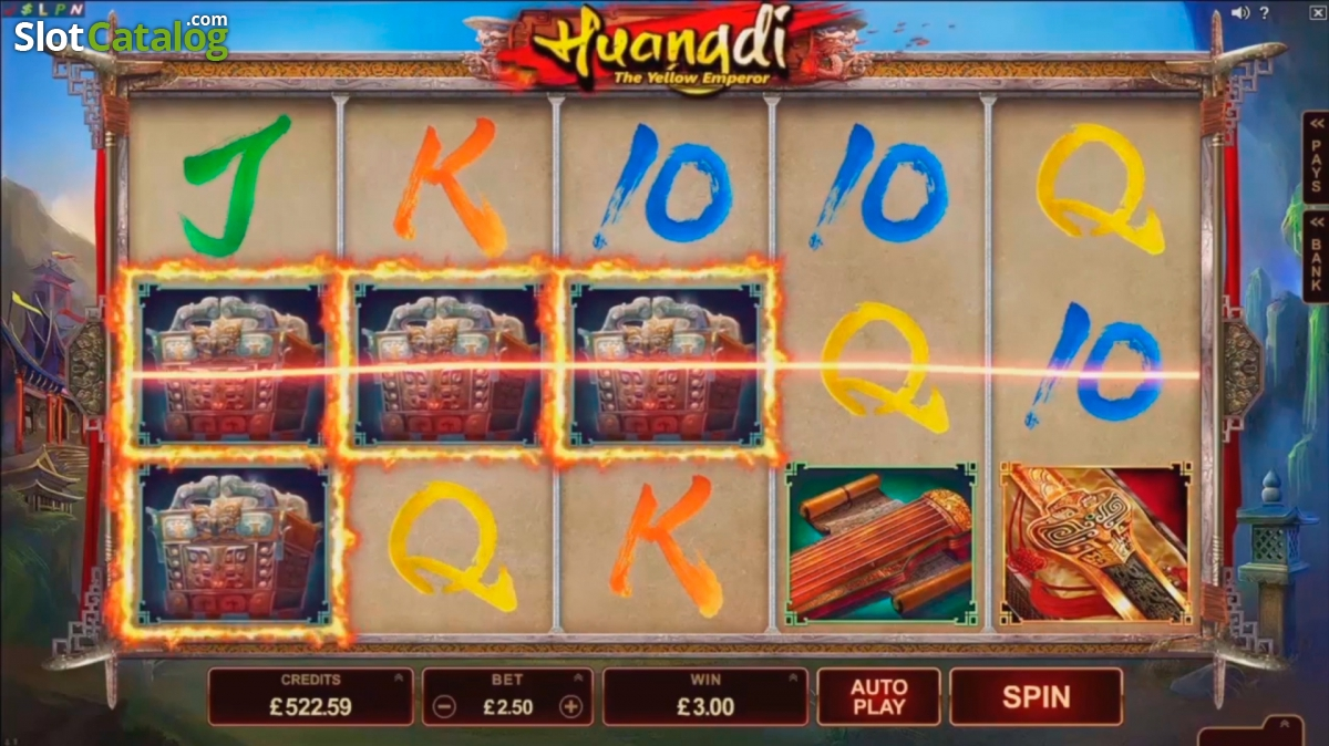 Huangdi The Yellow Emperor Slot Machine - Play for Free Now