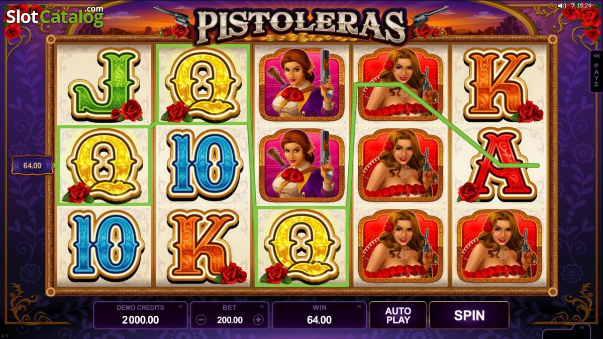 pistoleras casino