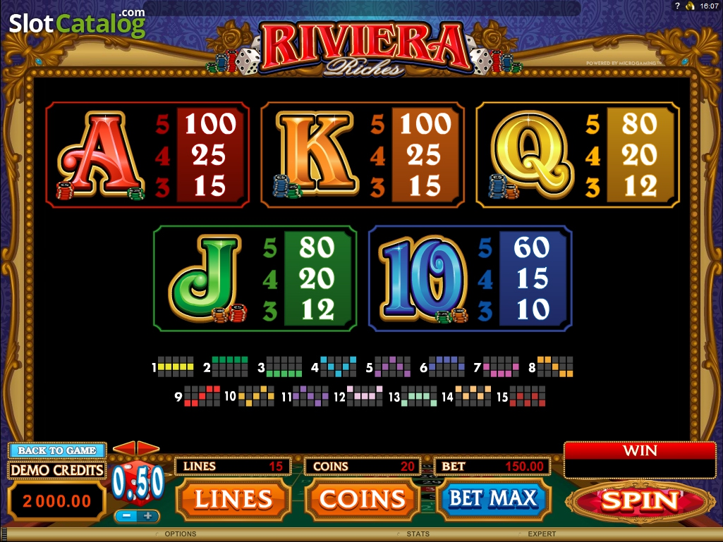 Spiele Riviera Riches - Video Slots Online