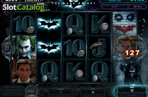 Screen3. The Dark Knight (Video Slot from Microgaming)